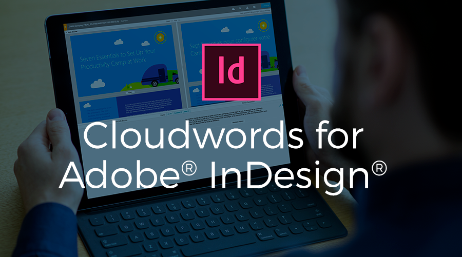 Cloudwords for Adobe In Design