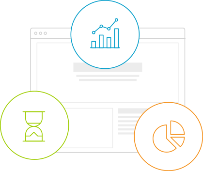 Real-time reports and analytics